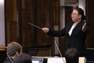 Conducting the Pleven Philharmonic in Bulgaria